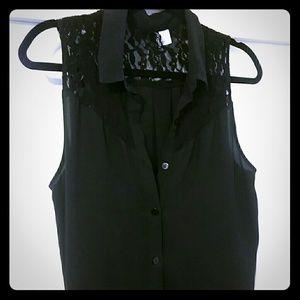 blouse no sleeves